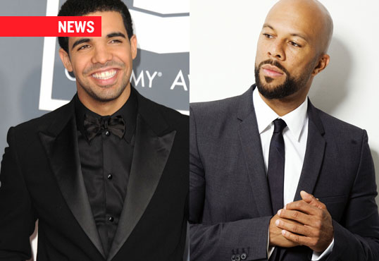 "Drake & Common Finally Square Off, ""They're Seeing Each Other For The First Time"""