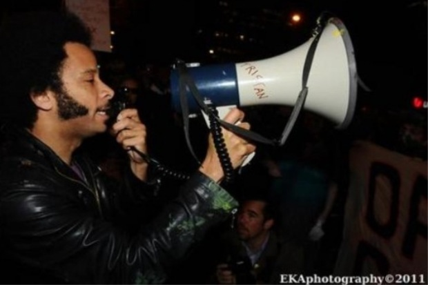 """Dr. Cornel West, Rapper Boots Riley Join """"Occupy"""" Police Protest In New York Today"""