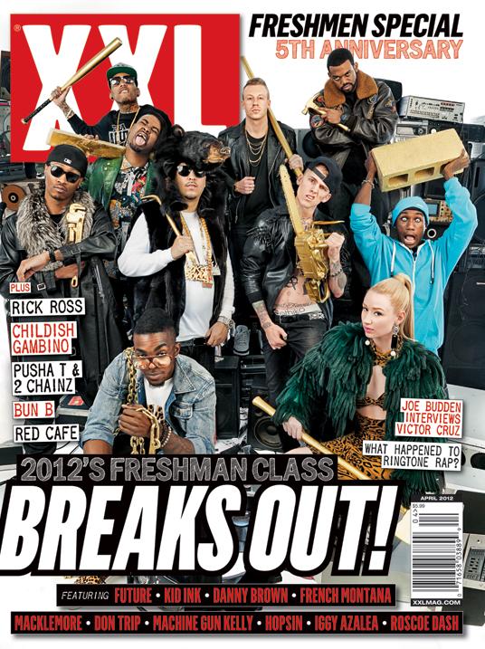XXL's Freshmen class of 2012