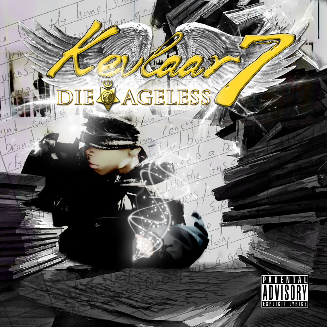 "Kevlaar 7's highly anticipated LP, ""Die ageless"" drops May 29th 2012...Check the tracklist!"