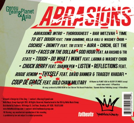 Gensu Dean & Planet Asia – Abrasions Review