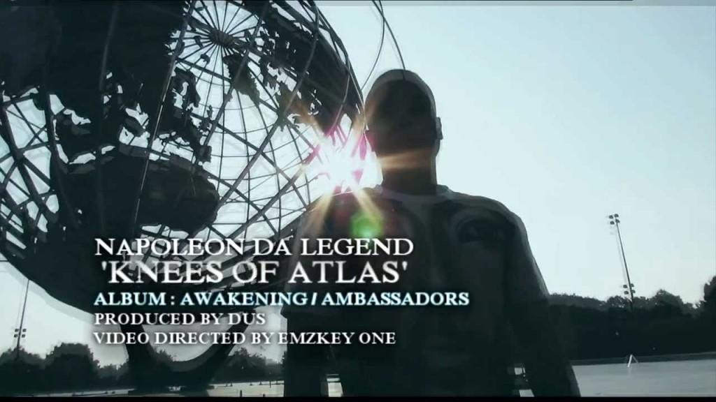 "THE PREMIERE VERSE: NAPOLEON DA LEGEND – ""Knees of Atlas"""