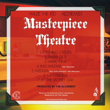 Willie The Kid & Alchemist – Masterpiece Theatre EP
