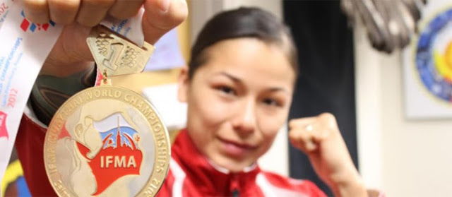 Native woman earns world martial arts title