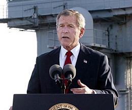 DOJ wants Bush, senior cabinet members exempt from Iraq War trial
