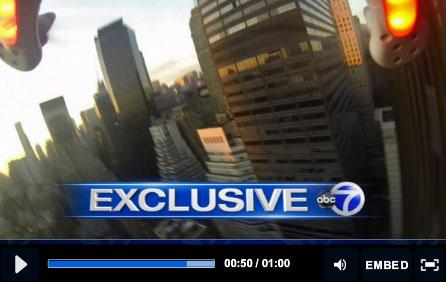 EXCLUSIVE: Drone crash lands in Manhattan