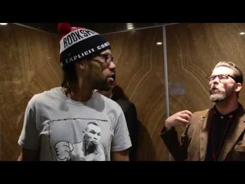 REDMAN CONFRONTED BY MAN WITH CEREBRAL PALSY