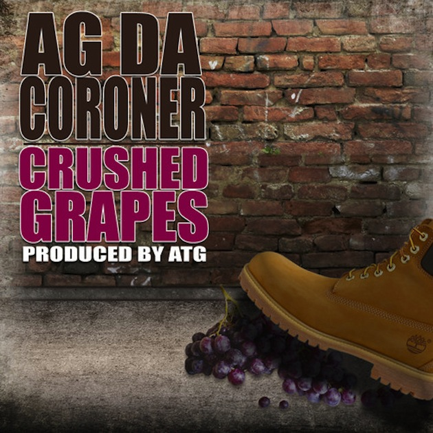 AG DA CORONER – CRUSHED GRAPES EP Review