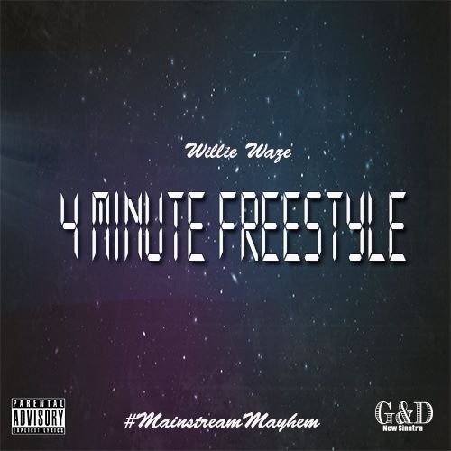 "Willie Waze - ""4 Minute Freestyle"" Track Review"