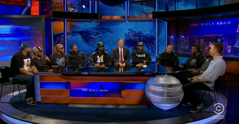 The Wu Tang Clan performs their new single Ron O'Neal on JON STEWART'S THE DAILY SHOW (Full Interview + Performance)