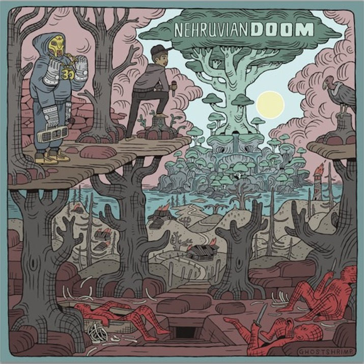 NEHRUVIANDOOM (MF DOOM & BISHOP NEHRU) LP Review