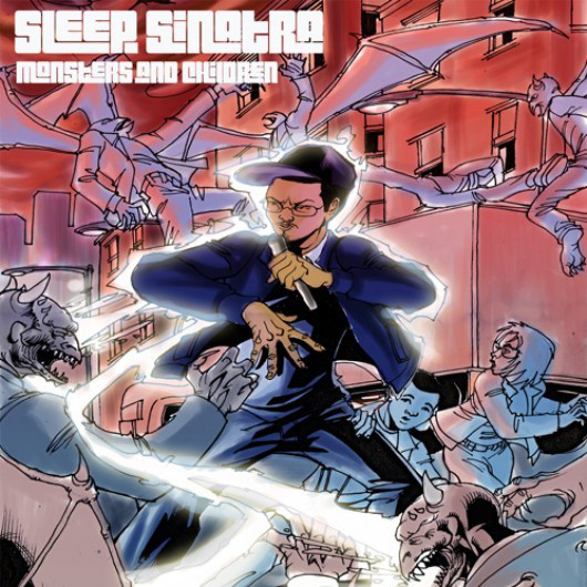 SLEEP SINATRA – MONSTERS AND CHILDREN LP Review