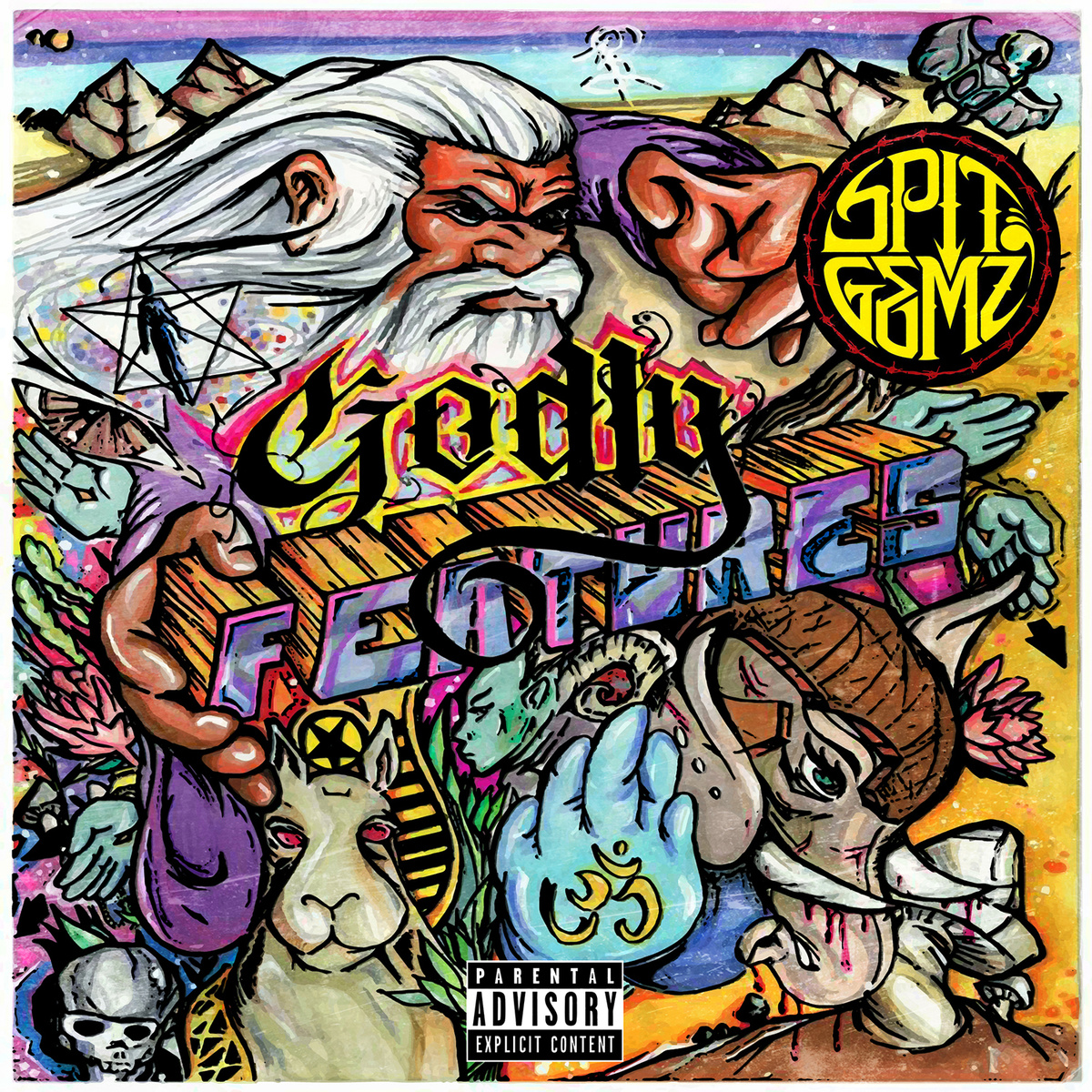 SPIT GEMZ – GODLY FEATURES LP Review