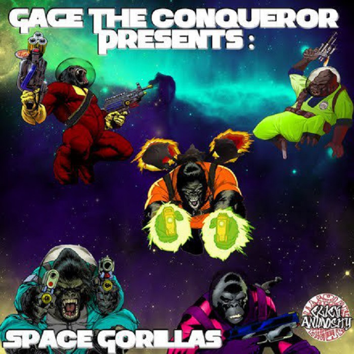 GAGE-ONE – SPACE GORILLAS EP Review
