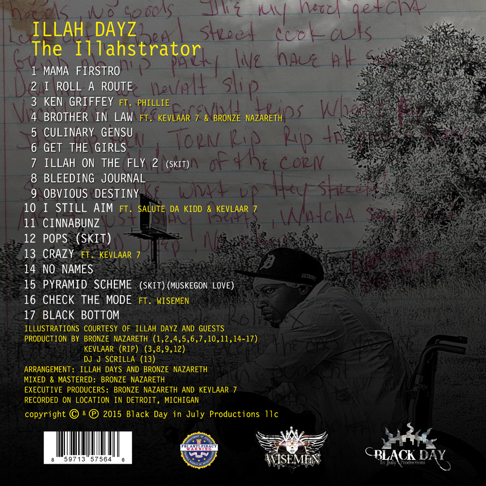 ILLAH DAYZ – THE ILLAHSTRATOR LP Review