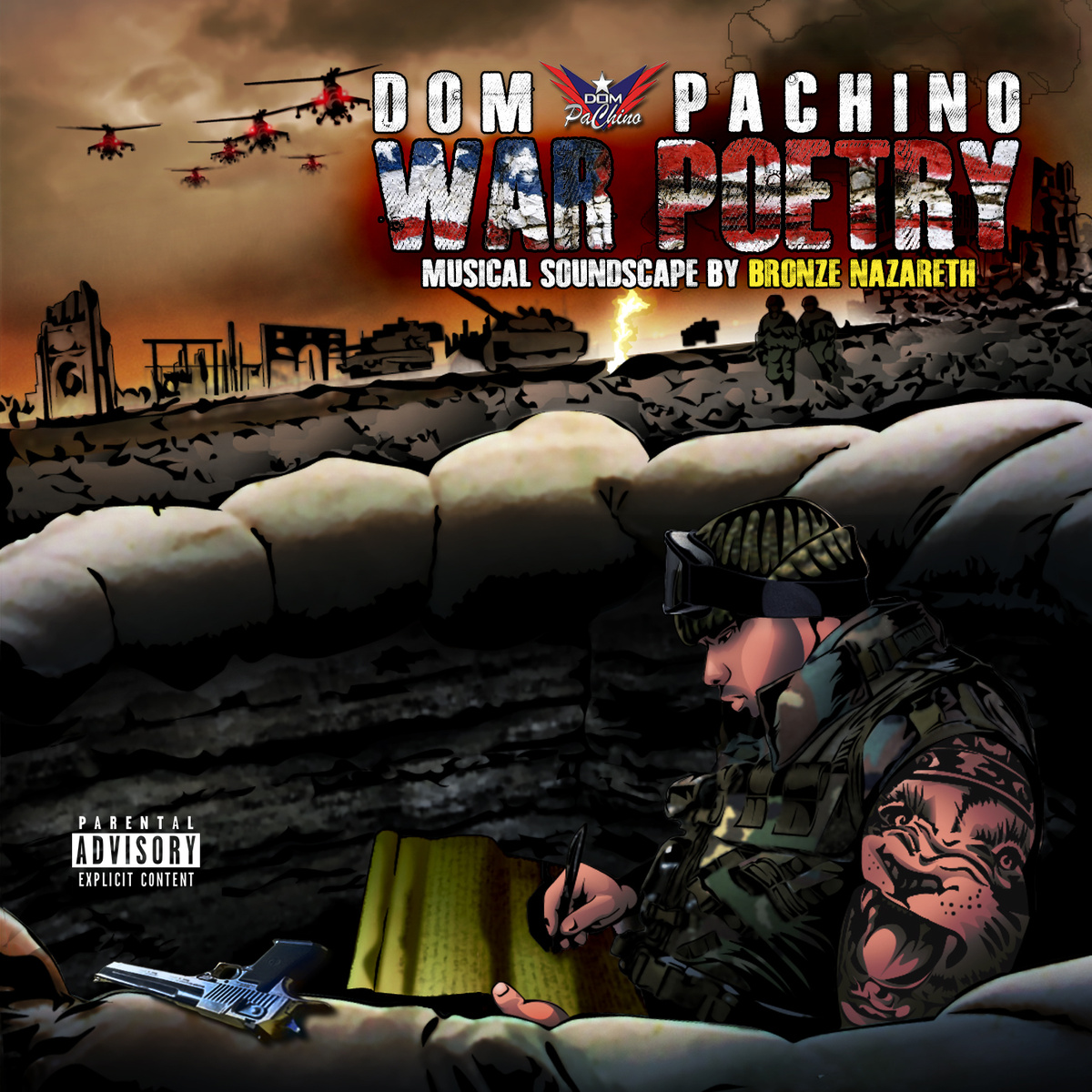 DOM PACHINO - WAR POETRY LP Inter-Review