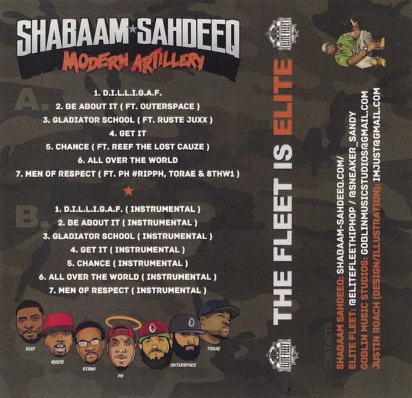 SHABAAM SAHDEEQ – MODERN ARTILLERY EP Review