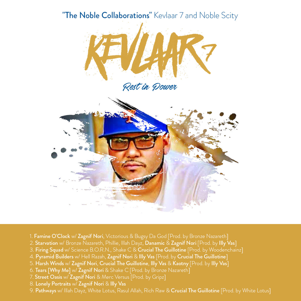RIP (REMEMBERED IN PERFECTION) KEVLAAR 7 & NOBLE SCITY - THE NOBLE COLLABORATIONS