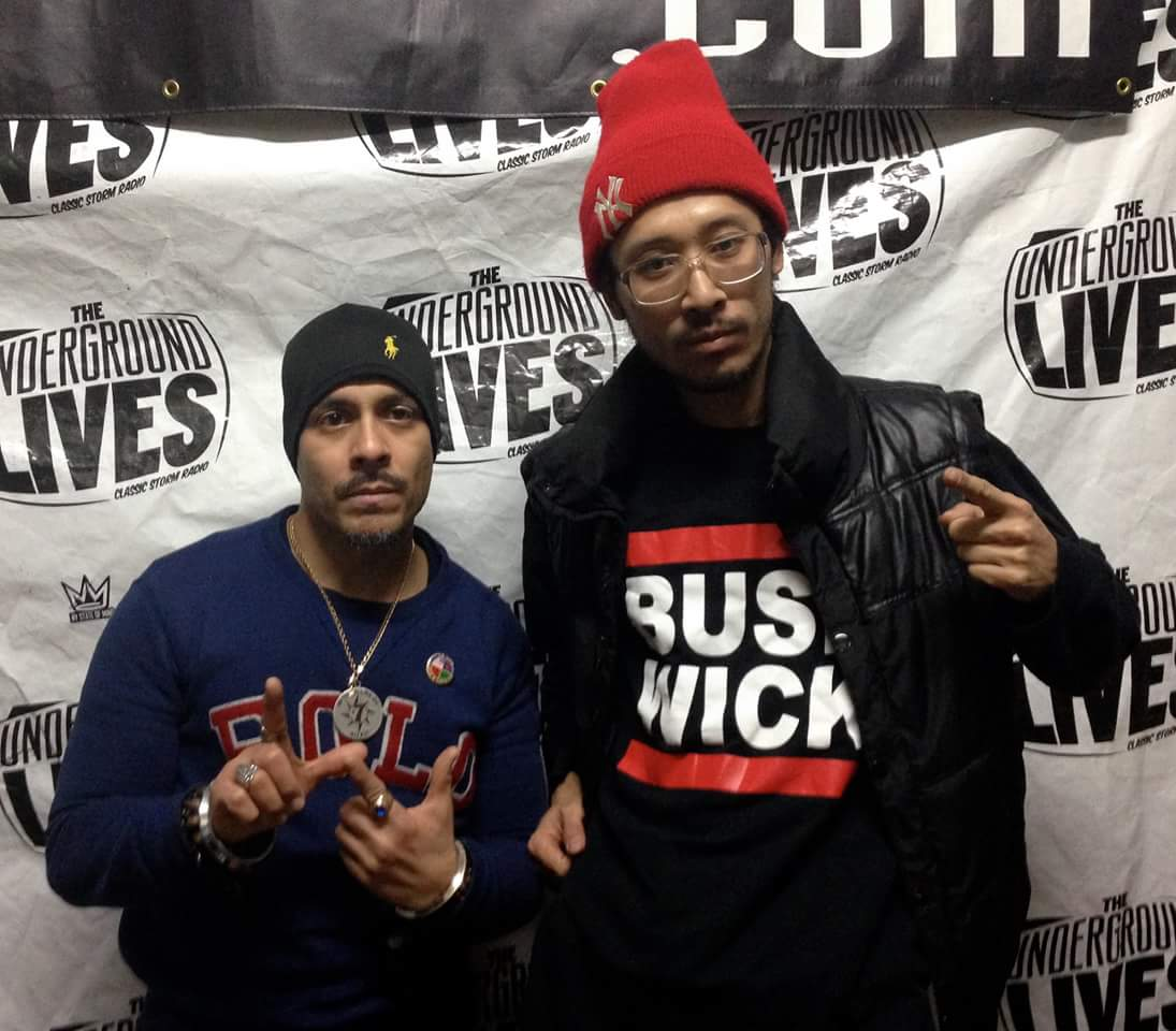 PREMIEREHIPHOP.COM's SUNEZ & PARAGONE HOST DJ TOSHI's CLASSIC STORM RADIO