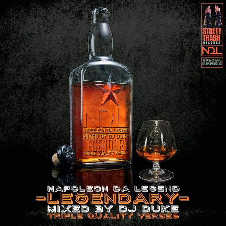 NAPOLEON DA LEGEND – LEGENDARY (MIXED BY DJ DUKE) Mixtape Review