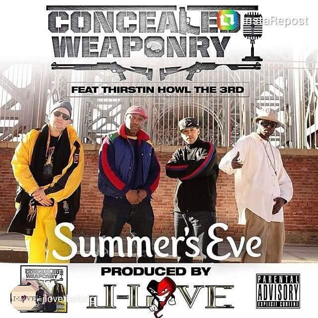 CONCEALED WEAPONRY – SHOWN & PROVEN LP Review & Exclusive PREMIEREHIPHOP.COM SHOW interview