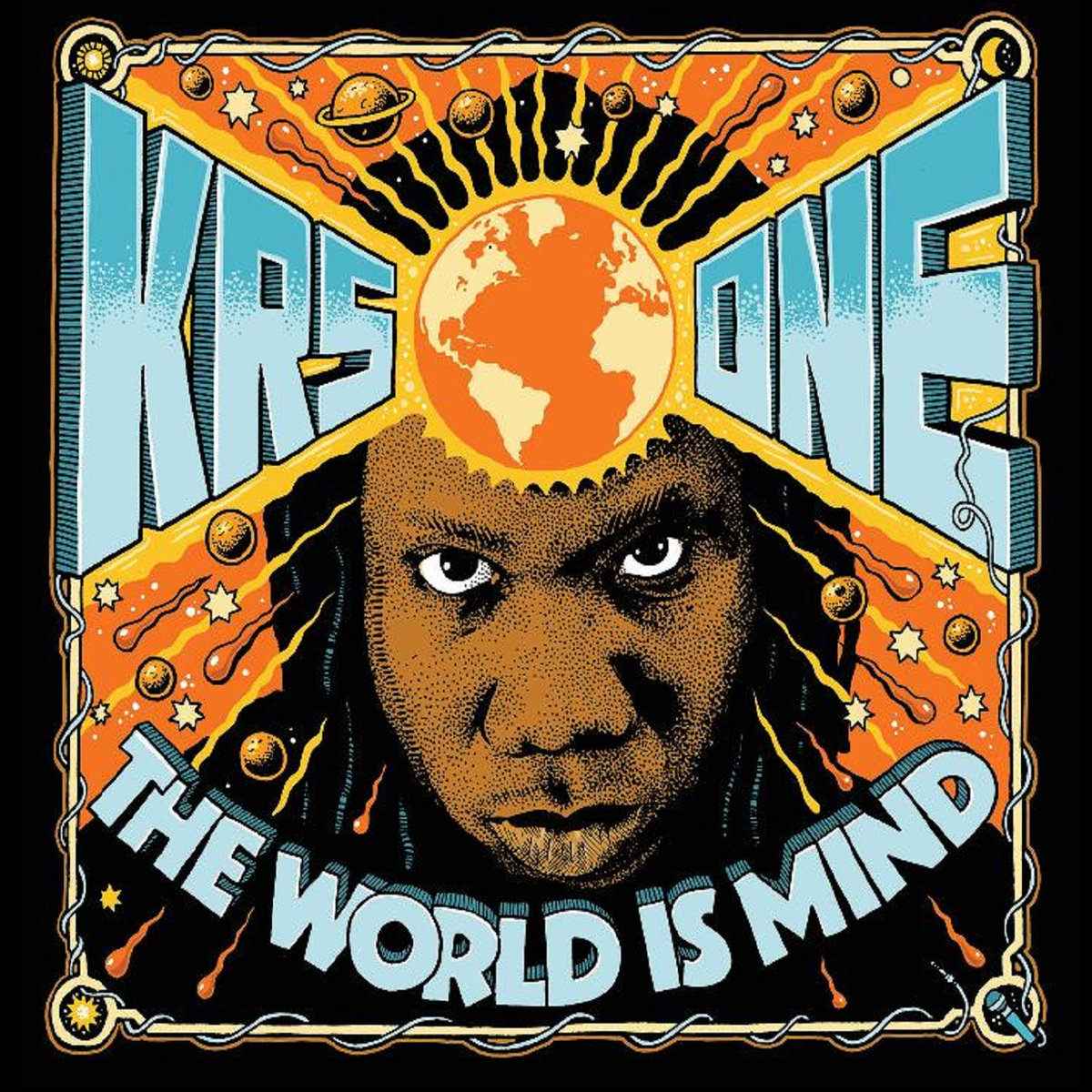KRS-ONE – THE WORLD IS MIND LP Review