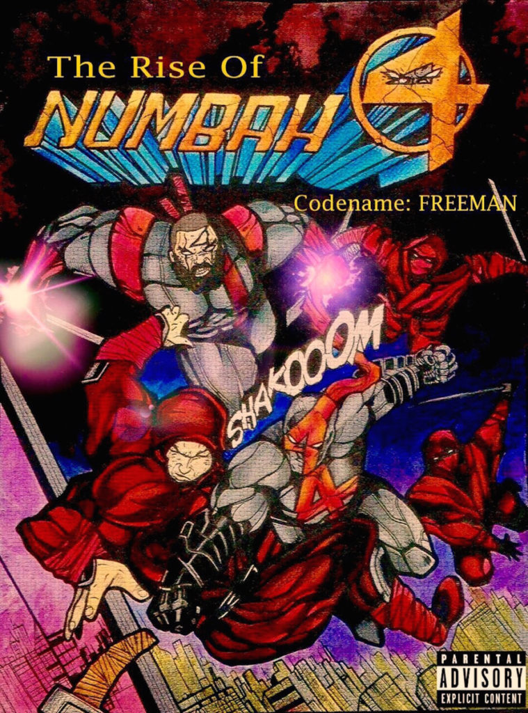 NUMBAH 4 - THE RISE OF NUMBAH 4 EP Review