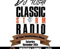 DJ TOSHI'S CLASSIC STORM RADIO 10 YEAR ANNIVERSARY SHOW REVIEW