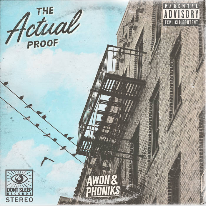 AWON & PHONIKS - THE ACTUAL PROOF LP Review