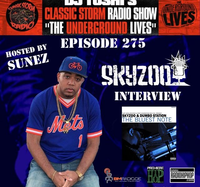 Sunez interviews Skyzoo - Classic Storm Radio Episode 275
