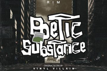 VINYL VILLAIN Starring RIM - Poetic Substance LP Review